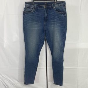 NWOT Kut from the Kloth High Rise Skinny Jeans